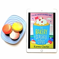 The Bakery at Seashell Cove by Karen Clarke #bookreview #tarheelreader @karenclarke123 @bookouture #pubday #thebakeryatseashellcove