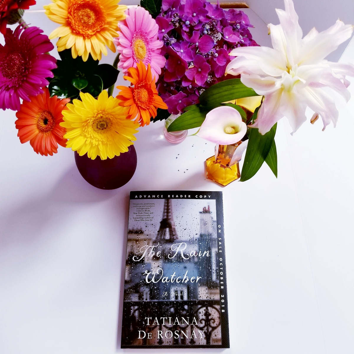 First Line Fridays: The Rain Watcher by Tatiana de Rosnay #firstlinefridays #tarheelreader @thrrain @tatianaderosnay #6bookbestiesrainwatcher @stmartinspress #therainwatcher