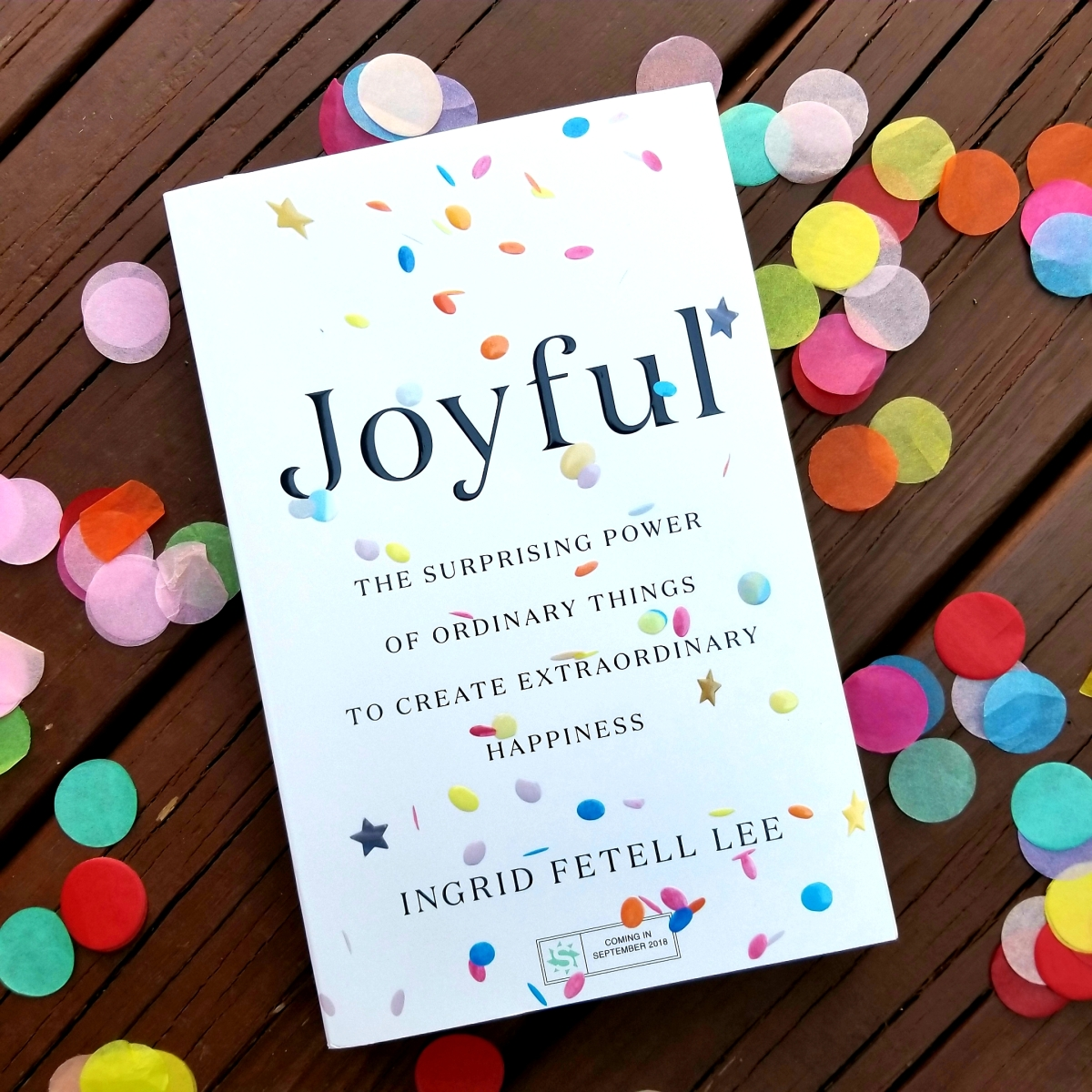 Joyful by Ingrid Fetell Lee #bookreview #tarheelreader @ingridfetell @littlebrown #joyfulbook