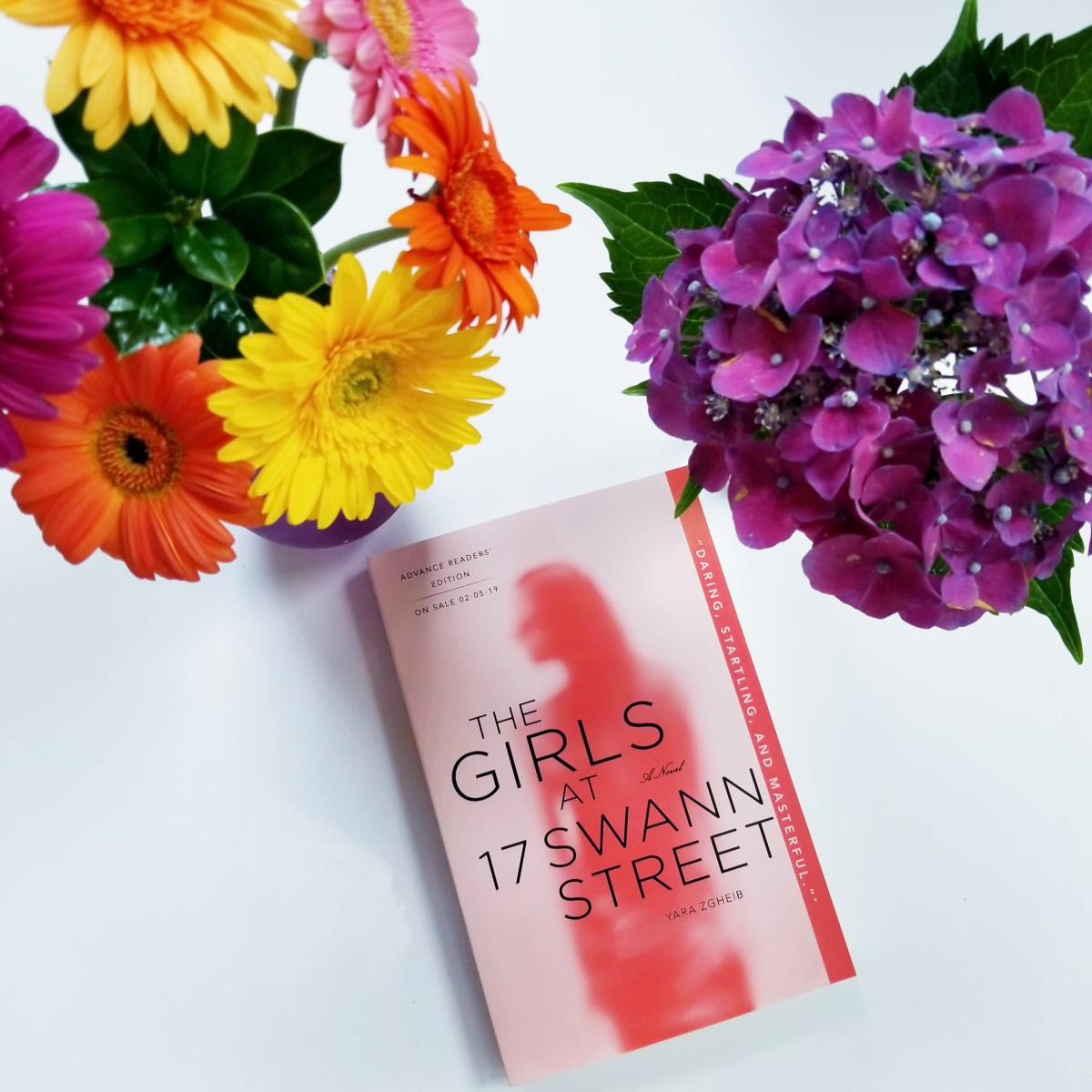 First Line Fridays: The Girls at 17 Swann Street by Yara Gheib #firstlinefridays #tarheelreader #thrswann #yarazgheib @stmartinspress #thegirlsat17swannstreet