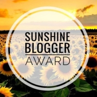 Sunshine Blogger Award #1 #booktag #tarheelreader #sunshineblogger (Are you surprised?)