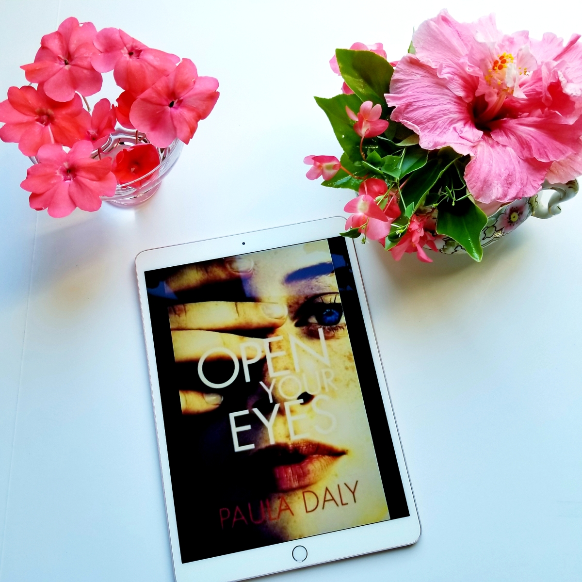 Open Your Eyes by Paula Daly #bookreview #tarheelreader #thropenyoureyes @pauladalyauthor @groveatlantic #openyoureyes