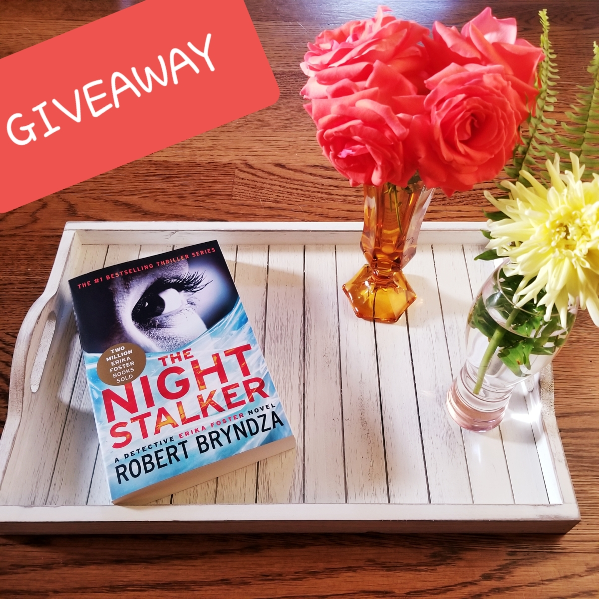 Night Stalker by Robert Bryndza #bookreview #tarheelreader #thrnightstalker @robertbryndza @grandcentralpub #nightstalker #bookgiveaway (two chances to win!)