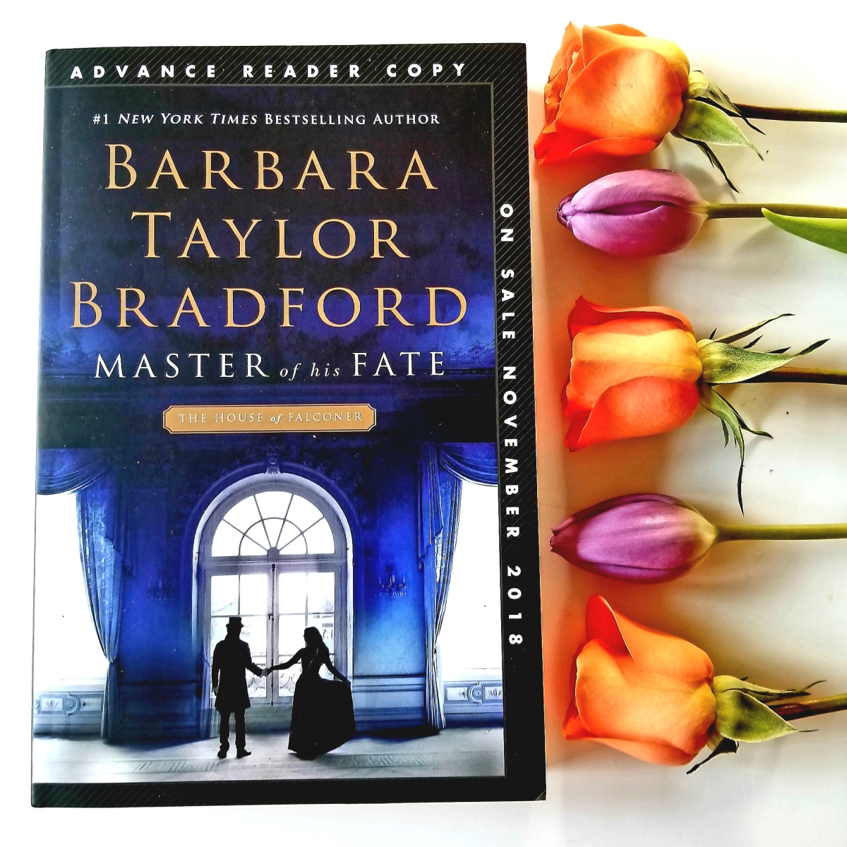 First Line Fridays: Master of His Fate by Barbara Taylor Bradford #firstlinefridays #tarheelreader #thrmasterfate @BTBNovelist @stmartinspress @annmarienieves @suzyapproved #masterofhisfate #blogtour