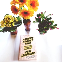 I Might Regret This by Abbi Jacobson #bookreview #tarheelreader #thrregret @abbijacobson @grandcentralpub #imightregretthisbook #bookgiveaway (2 chances to win!) #broadcity