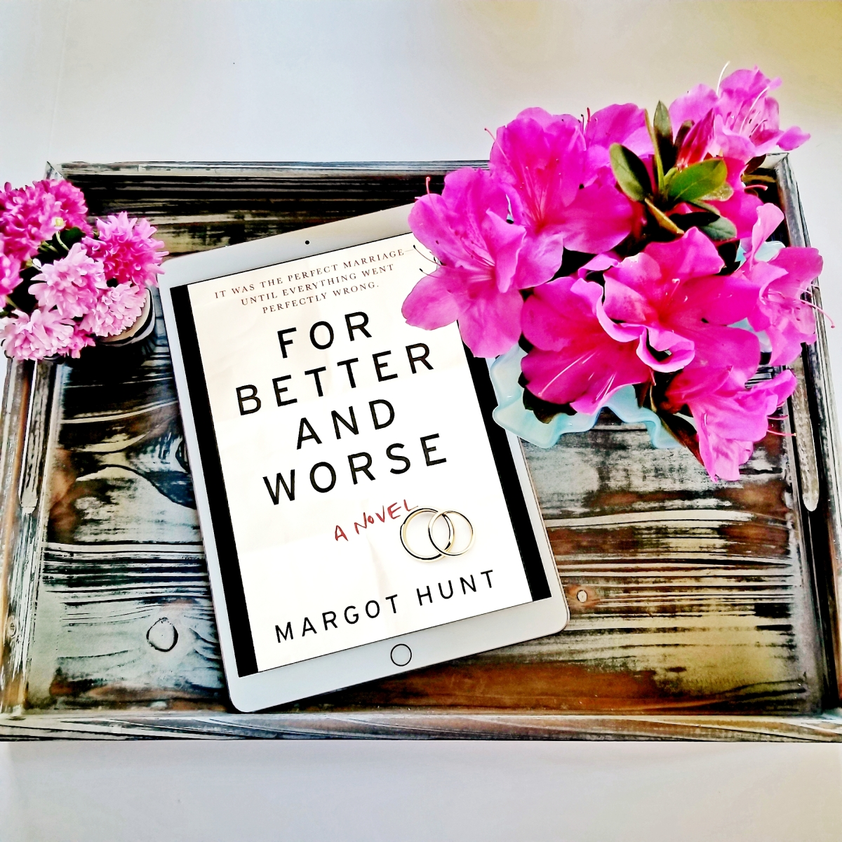 For Better and Worse by Margot Hunt #bookreview #tarheelreader #thrforbetter @huntauthor @harlequinbooks #harlequinmira #forbetterandworse #bookbestiesforbetterandworse