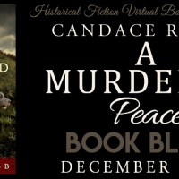 A Murdered Peace by Candace Robb #tarheelreader #thrmurderedpeace @candacemrobb @pegasus_books #amurderedpeace @hfvbt #blogtour #HFVBTBlogTours #giveaway