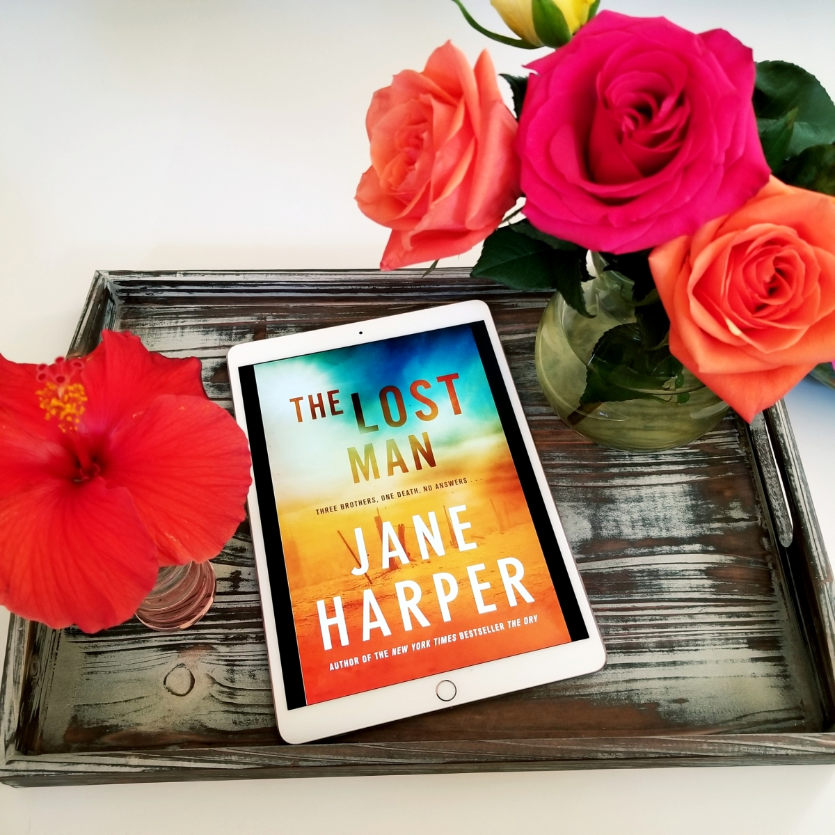 The Lost Man by Jane Harper #bookreview #tarheelreader #thrlostman @janeharperautho @flatironbooks #thelostman