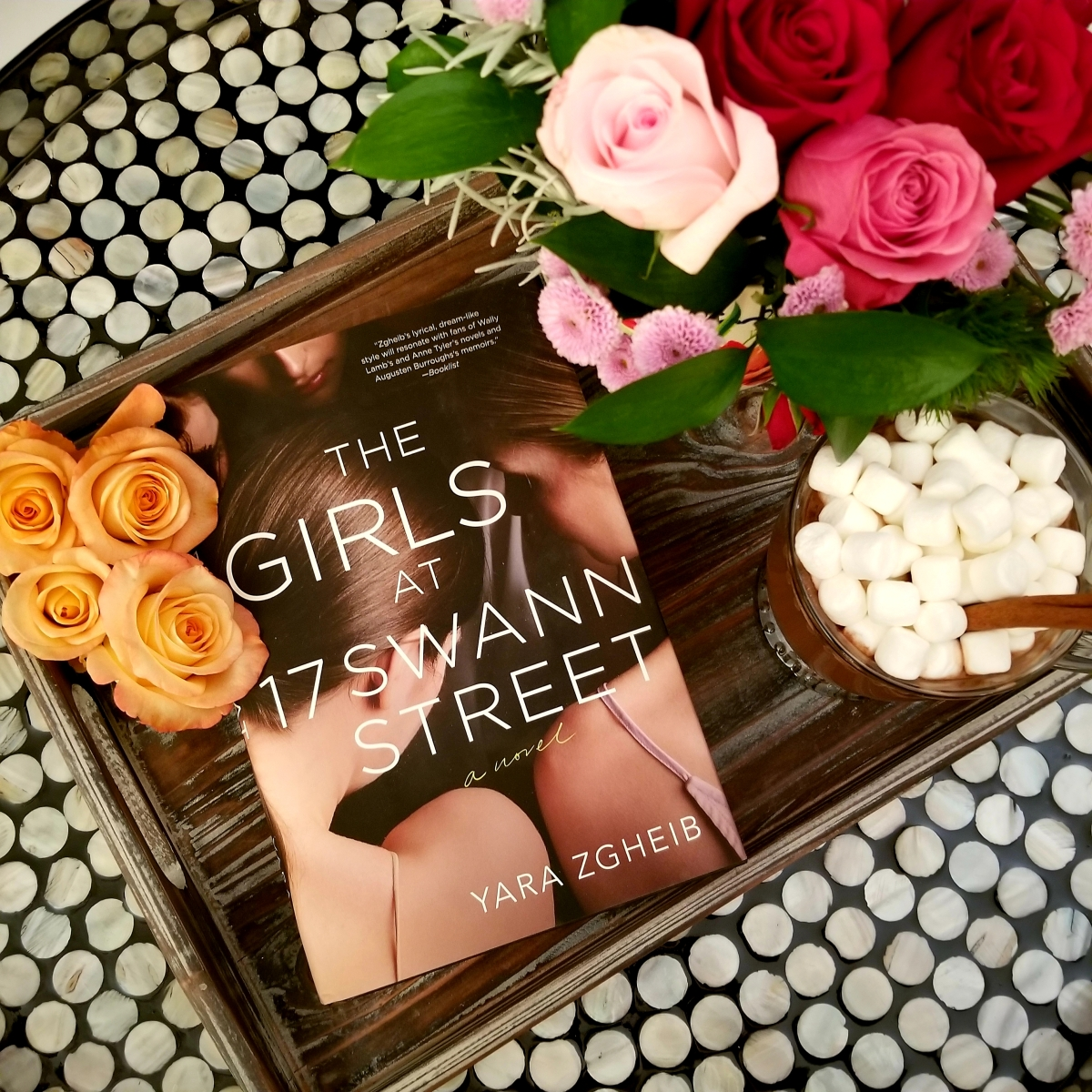 The Girls at 17 Swann Street by Yara Gheib #bookreview #tarheelreader #thrswann #yarazgheib @stmartinspress #thegirlsat17swannstreet