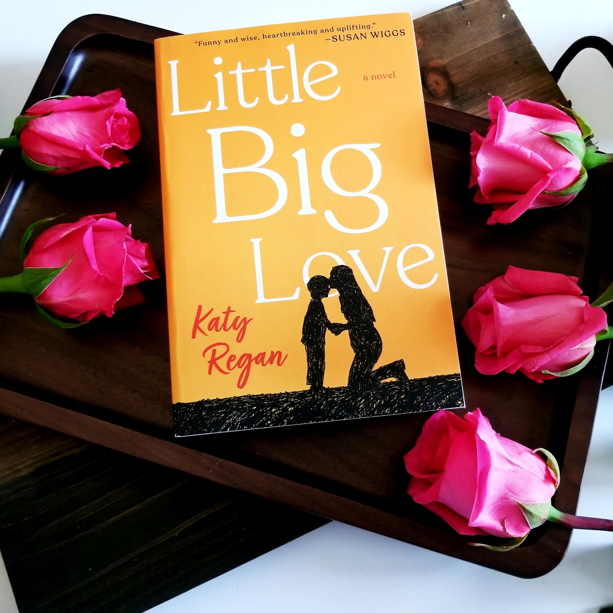 Little Big Love by Katy Regan #bookreview #tarheelreader #thrlittlebiglove @katyreganwrites @berkleypub #littlebiglove #blogtour #bookgiveaway