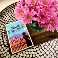 Death in Provence by Serena Kent #bookreview #tarheelreader #thrdeathprovence @serenakentbooks @harperbooks #deathinprovence