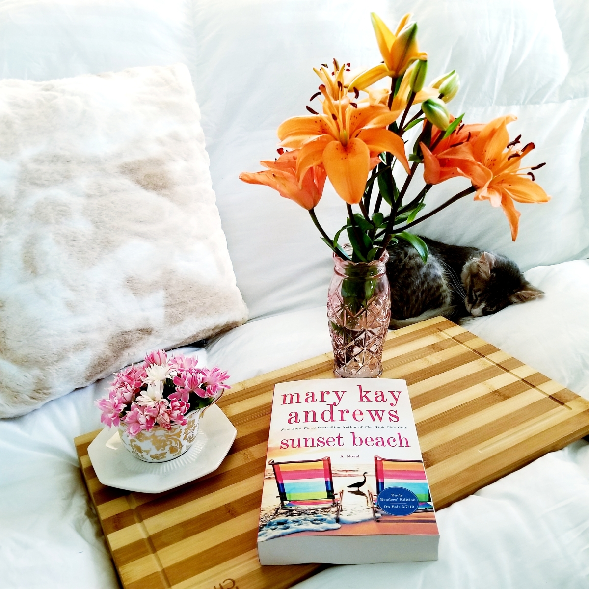Sunset Beach by Mary Kay Andrews #bookreview #tarheelreader #thrsunsetbeach @mkayandrews @stmartinspress #sunsetbeach