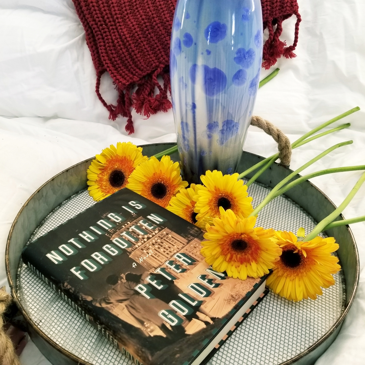 Nothing is Forgotten by Peter Golden #bookreview #tarheelreader #thrnothingis @petergolden32 @atriabooks @tlcbooktours #nothingisforgotten #blogtour