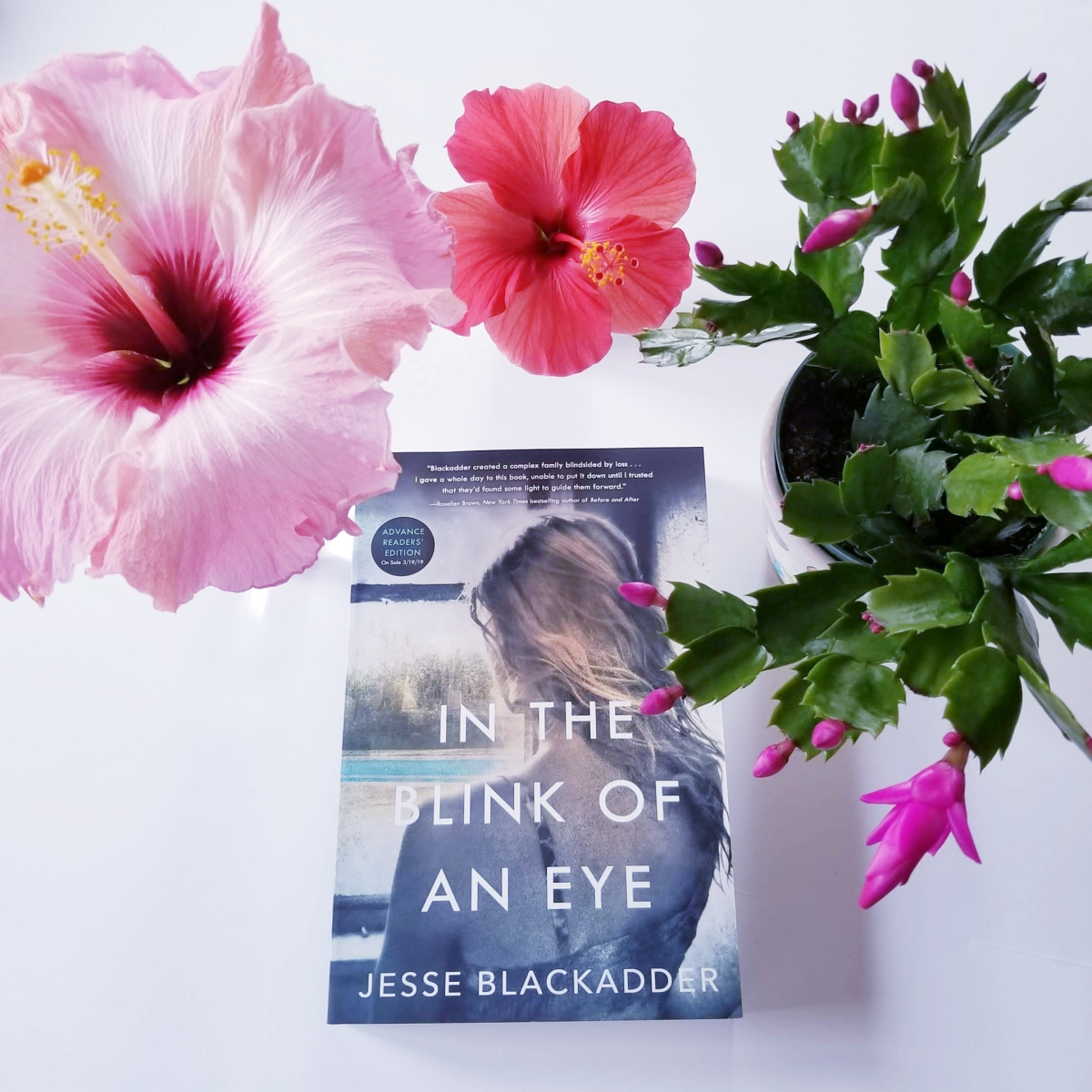 In the Blink of an Eye by Jesse Blackadder #bookreview #tarheelreader #thrblinkofaneye @jesseblackadder @stmartinspress #intheblinkofaneye