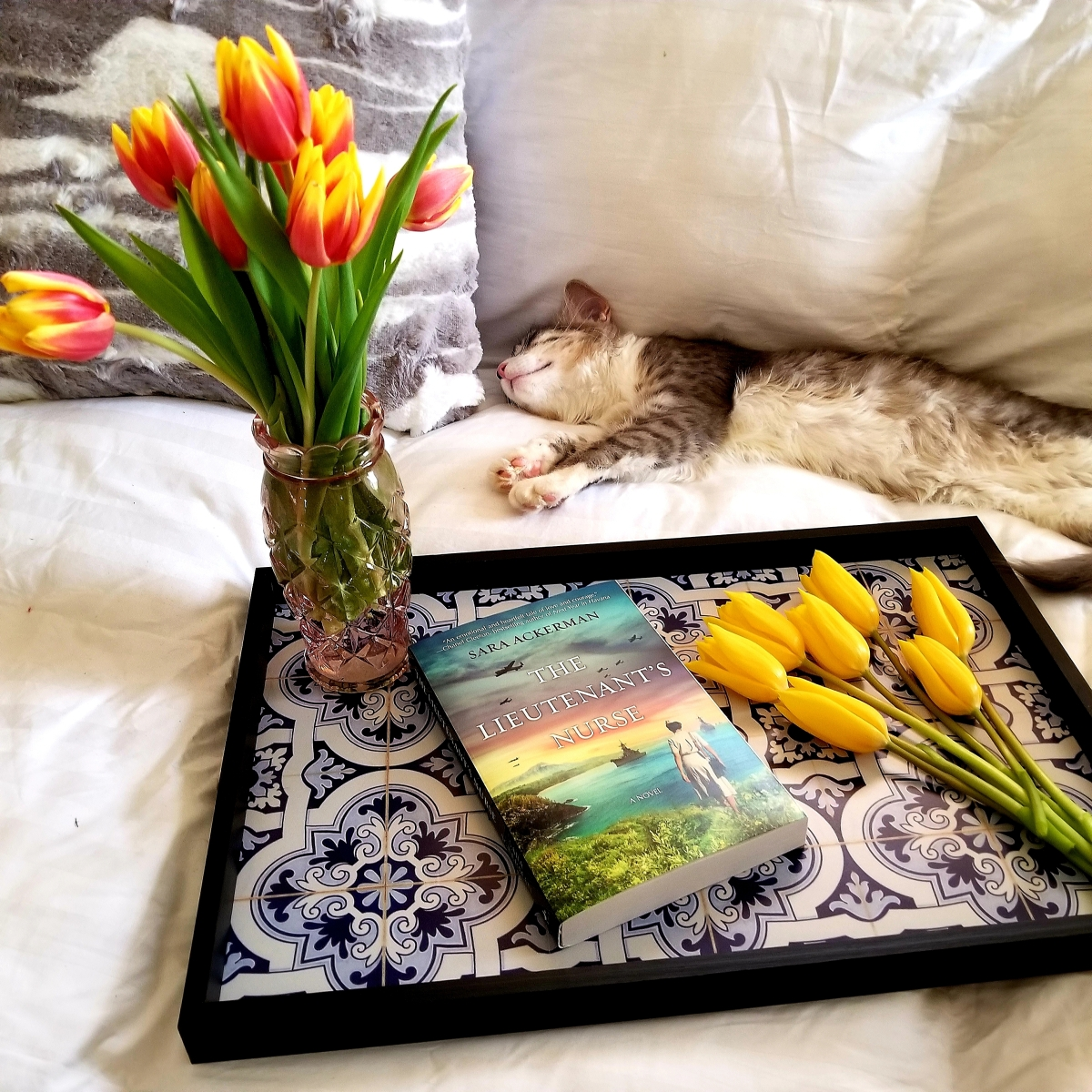 The Lieutenant's Nurse by Sara Ackerman #bookreview #tarheelreader #thrnurse @ackermanbooks @harlequinbooks #mira @tlcbooktours #thelieutenantsnurse #blogtour