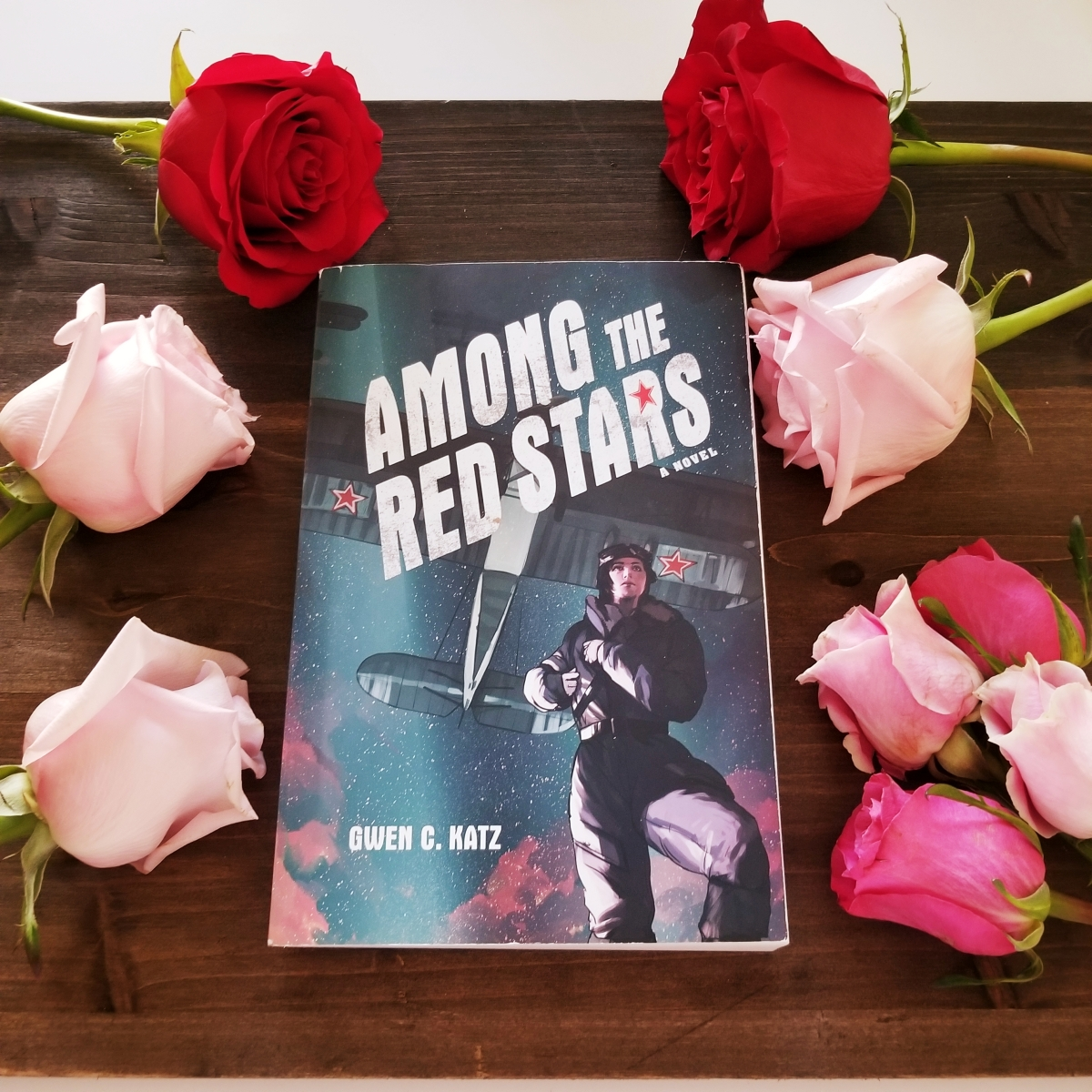 Among the Red Stars by Gwen C. Katz #bookreview #tarheelreader #thramongredstars @gwenckatz @harperbooks @harperteen #amongtheredstars