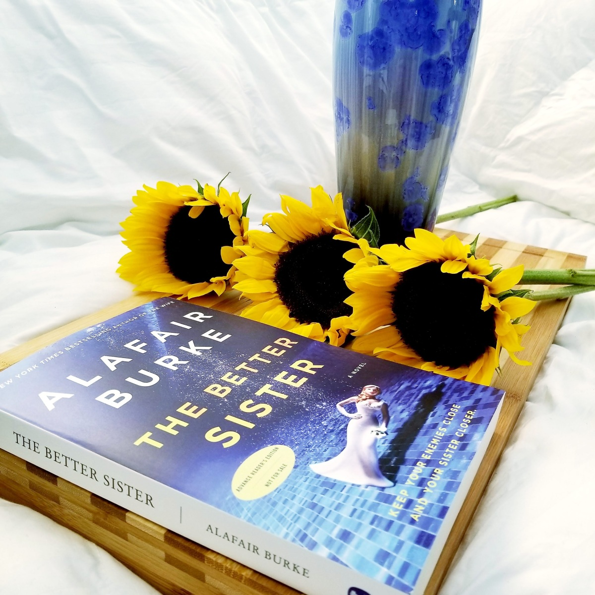 The Better Sister by Alafair Burke #bookreview #tarheelreader #thrbettersister @alafairburke @harperbooks #thebettersister
