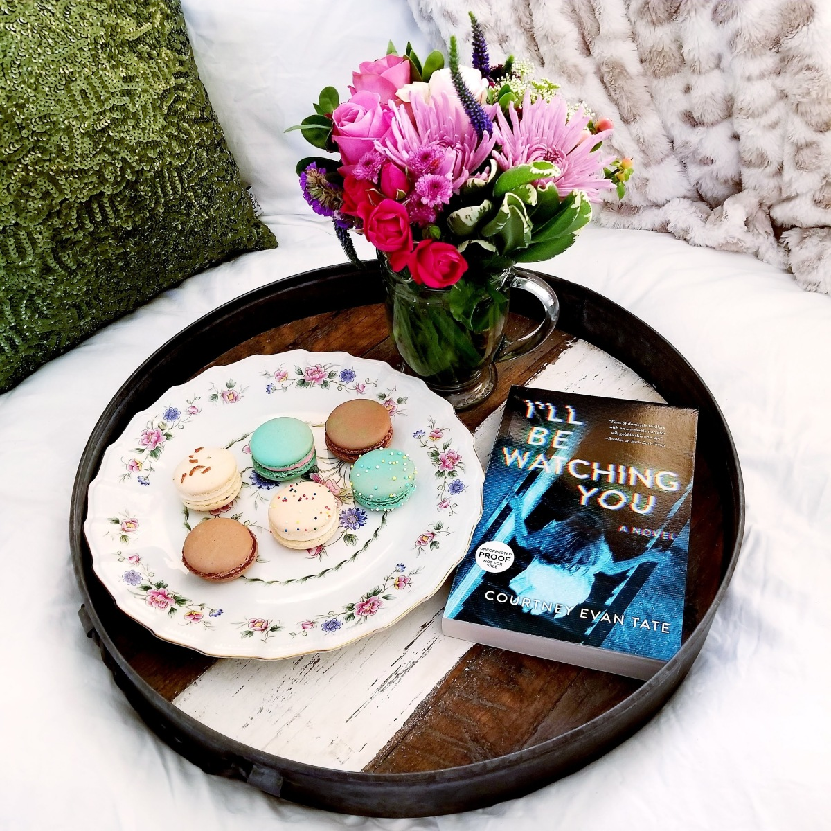 I'll Be Watching You by Courtney Evan Tate #bookreview #tarheelreader #thrillbewatching @court_writes @harlequinbooks #mira @tlcbooktours #illbewatchingyou #blogtour