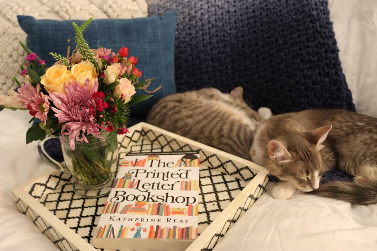 The Printed Letter Bookshop by Katherine Reay #bookreview #tarheelreader #thrprintedletter @katherine_reay @thomasnelson @tlcbooktours #theprintedletterbookshop #blogtour