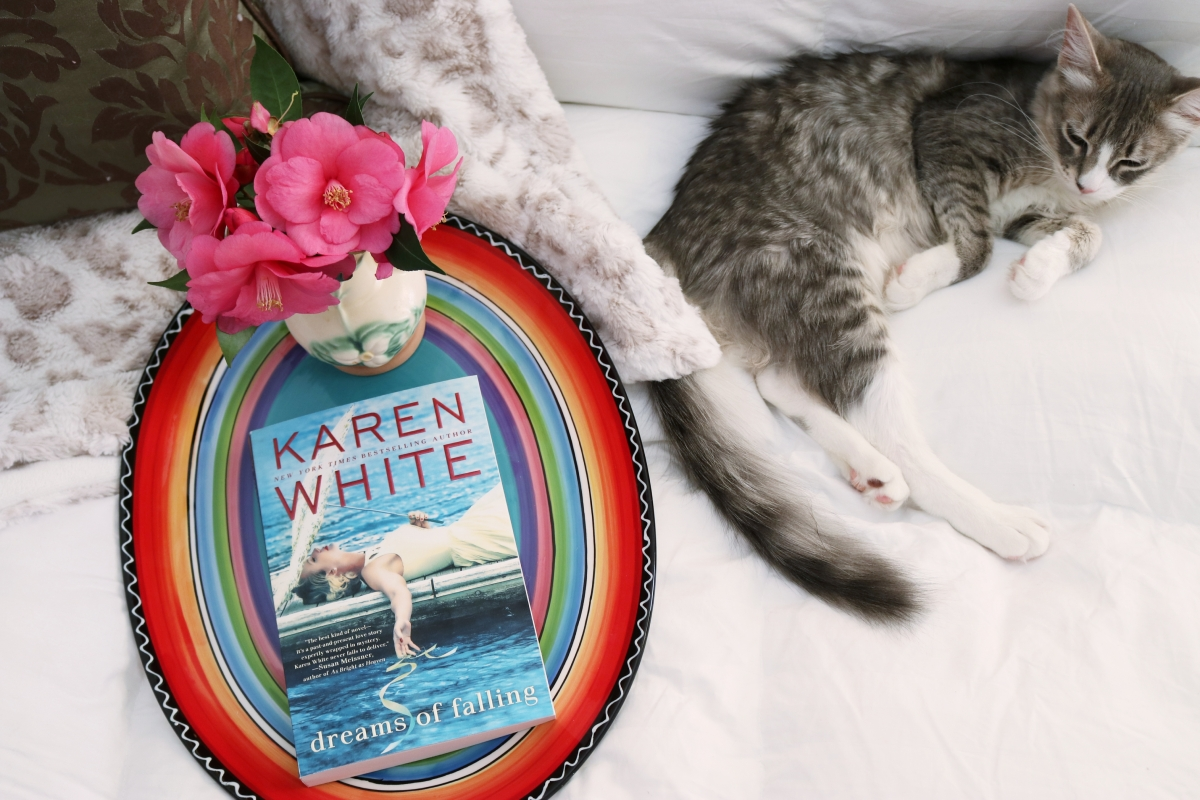Dreams of Falling by Karen White #bookreview #tarheelreader #thrdreamsoffalling @karenwhitewrite @berkleypub #dreamsoffalling #blogtour #bookgiveaway