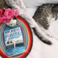 Dreams of Falling by Karen White #bookreview #tarheelreader #thrdreamsoffalling @karenwhitewrite @berkleypub #dreamsoffalling #blogtour #bookgiveaway