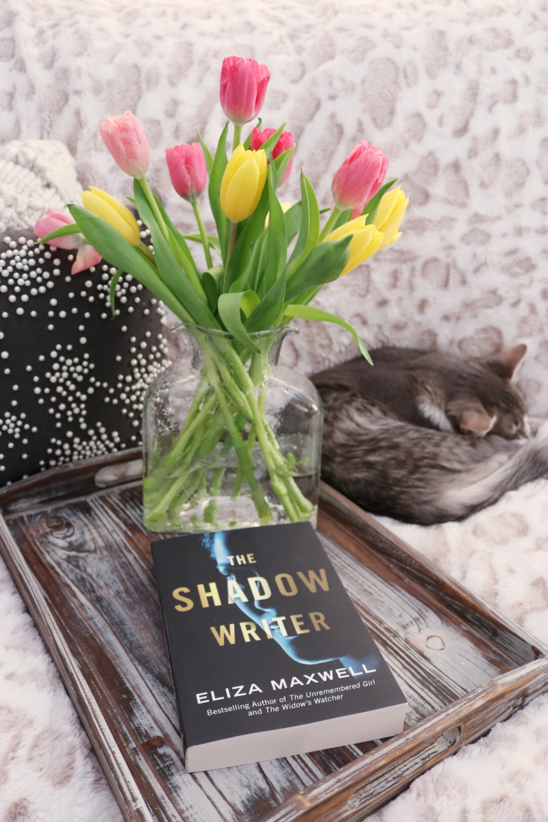 The Shadow Writer by Eliza Maxwell #bookreview #tarheelreader #thrshadowwriter #elizamaxwell @luauthors @tlcbooktours #theshadowriter #blogtour
