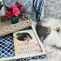 The Woman in the White Kimono by Ana Johns #bookreview #tarheelreader #thrwhitekimono @author_anajohns @harlequinbooks @parkrowbooks @tlcbooktours #thewomaninthewhitekimono #blogtour