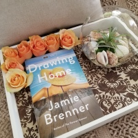 Drawing Home by Jamie Brenner #bookreview #tarheelreader #thrdrawinghome @jamielbrenner @littlebrown #drawinghome