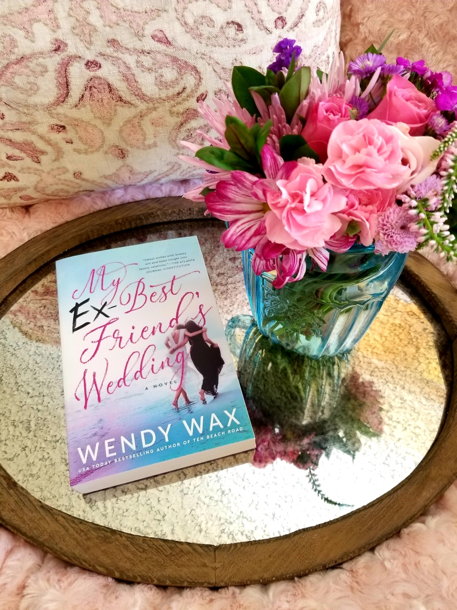My Ex-Best Friend's Wedding by Wendy Wax #bookreview #tarheelreader #thrmyexbf @wendy_wax @berkleypub #myexbestfriendswedding #blogtour #bookgiveaway