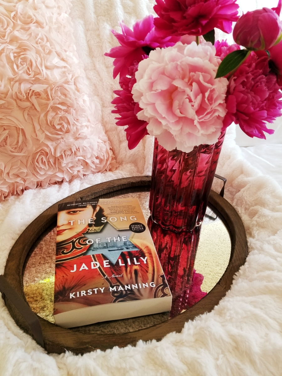 The Song of the Jade Lily by Kirsty Manning #bookreview #tarheelreader #thrsongofjadelily @kirstymanningau @wmmorrowbooks @tlcbooktours #thesongofthejadelily #blogtour