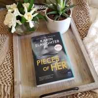 Pieces of Her by Karin Slaughter #bookreview #tarheelreader #thrpiecesofher @slaughterkarin @wmmorrowbooks @tlcbooktours #piecesofher #blogtour