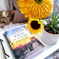 Where the Light Enters by Sara Donati #bookreview #tarheelreader #thrwherethelight @akasaradonati @berkleypub #wherethelightenters #blogtour #bookgiveaway