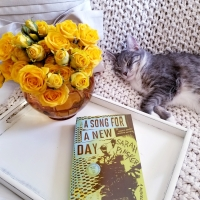 A Song for a New Day by Sarah Pinsker #bookreview #tarheelreader #thrasongforanewday @sarahpinsker @berkleypub #asongforanewday