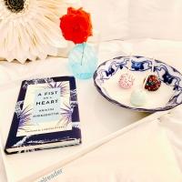 A Fist or a Heart by Kristin Eiriksdottir #bookreview #tarheelreader #thrafistoraheart @amazonpub @mbeatie #afistoraheart