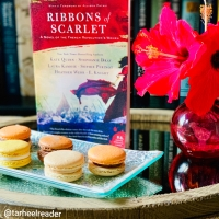 Ribbons of Scarlet #bookreview #tarheelreader #thrribbonsofscarlet @wmmorrowbooks @tlcbooktours #ribbonsofscarlet #blogtour