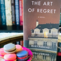 The Art of Regret by Mary Fleming #bookreview #tarheelreader #thrtheartofregret @maryfleming_ @shewritespress @suzyapbooktours #blogtour #theartofregret