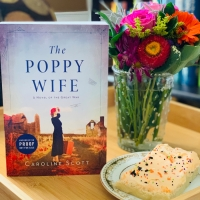 The Poppy Wife by Caroline Scott #bookreview #tarheelreader #thrthepoppywife @wmmorrowbooks @tlcbooktours #thepoppywife #blogtour