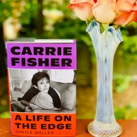 Carrie Fisher: A Life on the Edge by Sheila Weller #bookreview #tarheelreader #thrcarriefisher @sheilaweller @fsgbooks @suzyapbooktours #blogtour #carriefisheralifeontheedge
