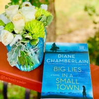 Big Lies in a Small Town by Diane Chamberlain #bookreview #tarheelreader #thrbigliesinasmalltown @D_Chamberlain @stmartinspress #bigliesinasmalltown