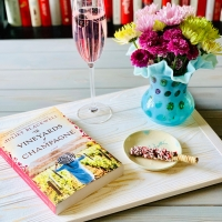 The Vineyards of Champagne by Juliet Blackwell #bookreview #tarheelreader #thrthevineyardsofchampagne @julietblackwell @berkleypub #thevineyardsofchampagne #blogtour #bookgiveaway