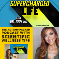 Podcast review: Supercharged Life by Dr. Judy Ho #review #tarheelreader @drjudyho @stage29podcasts @suzyapbooktours #superchargedlife #blogtour