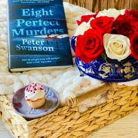 Eight Perfect Murder by Peter Swanson #bookreview #tarheelreader #threightperfectmurders @peterswanson3 @wmmorrowbooks @tlcbooktours #eightperfectmurders #blogtour