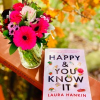 Happy & You Know It by Laura Hankin #bookreview #tarheelreader #thrhappyandyouknowit @laurahankin @berkleypub #happyandyouknowit #blogtour