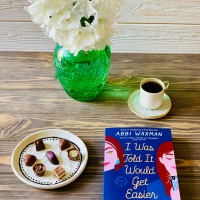 I Was Told It Would Get Easier by Abbi Waxman #bookreview #tarheelreader #thriwastolditwouldgeteasier @amplecat @berkleypub #iwastolditwouldgeteasier #blogtour