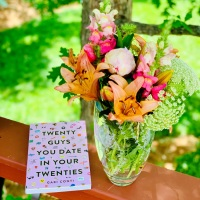 Twenty Guys You Date in Your Twenties by Gabi Conti #bookreview #tarheelreader #thrtwentyguys @itsgabiconti @chroniclebooks @suzyapbooktours #twentyguysyoudateinyourtwenties #blogtour