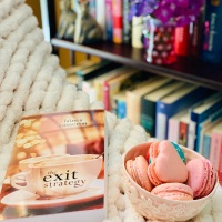 The Exit Strategy by Lainey Cameron #bookreview #tarheelreader #thrtheexitstrategy @lainey_cameron @wildrosepress @suzyapbooktours #theexitstrategy #blogtour