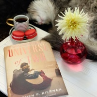Universe of Two by Stephen P. Kiernan #bookreview #tarheelreader #thruniverseoftwo @stephenpkiernan #wunderkindpr @wmmorrowbooks #universeoftwo