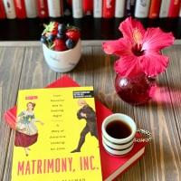 Matrimony Inc. by Francesca Beauman #bookspotlight #tarheelreader #thrmatrimonyinc @francescabeauma @pegasus_books #matrimonyinc