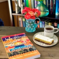 Jersusalem as a Second Language by Rochelle Distelheim #bookreview #tarheelreader #thrjerusalem @otrpr #jerusalemasasecondlanguage #bookgiveaway