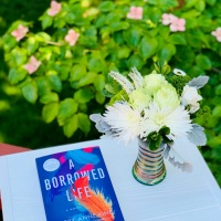 A Borrowed Life by Kerry Anne King #bookreview #tarheelreader #thraborrowedlife @kerry_anne_king @amazonpub @suzyapbooktours #aborrowedlife #blogtour
